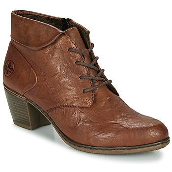 Schoenen Dames Enkellaarzen Rieker Y2131-24 Brown