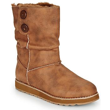 Schoenen Dames Laarzen Skechers KEEPSAKES 2.0  camel