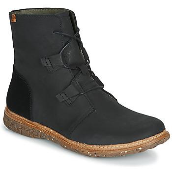 Schoenen Dames Laarzen El Naturalista ANGKOR Zwart