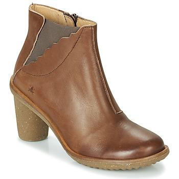 Schoenen Dames Hoge laarzen El Naturalista TRIVIA Brown
