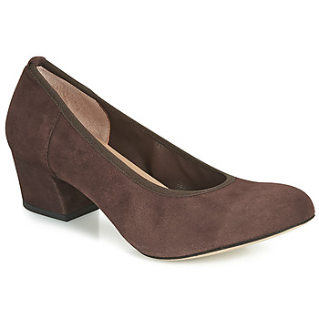 Schoenen Dames pumps Perlato 10366-CAM-NUT Brown