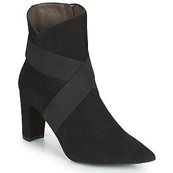 Schoenen Dames Enkellaarzen Perlato 11327-CAM-NOIR Zwart