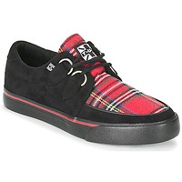 Schoenen Lage sneakers TUK CREEPER SNEAKERS Zwart / Tartan