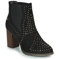 Schoenen Dames Enkellaarzen Xti LOVALO Zwart