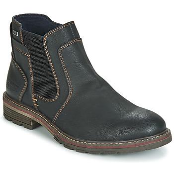 Schoenen Heren Laarzen Tom Tailor MARTY Zwart