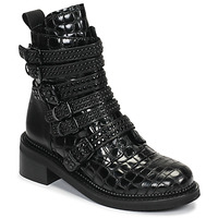 Schoenen Dames Laarzen Mimmu RIPTILUS Zwart