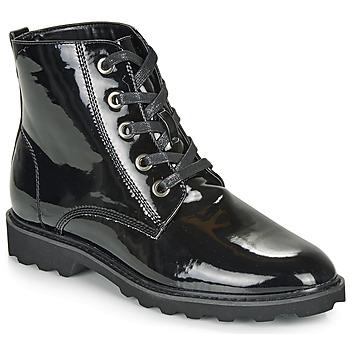 Schoenen Dames Laarzen Moony Mood FRULIN Zwart