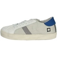 Schoenen Jongens Lage sneakers Date HILL LOW-T White/Light Blue