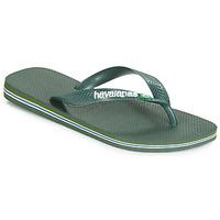 Schoenen Slippers Havaianas BRASIL LOGO Olijf