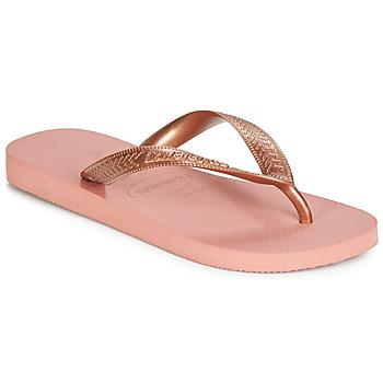 Schoenen Dames Slippers Havaianas TOP TIRAS Roze