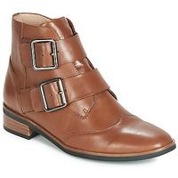 Schoenen Dames Laarzen Karston JIRONO Brown