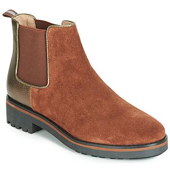 Schoenen Dames Laarzen Karston ONKIX Brown