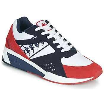 Schoenen Heren Lage sneakers Kappa GARKO Wit / Rood / Zwart