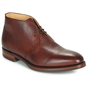 Schoenen Heren Laarzen Barker OAKNEY Bordeaux