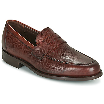 Schoenen Heren Mocassins Barker JEVINGTON Bordeaux