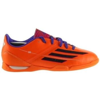 Schoenen Kinderen Voetbal adidas Originals F10 IN J Orange, Violet