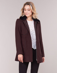 Textiel Dames Mantel jassen Betty London LAURA Bordeaux