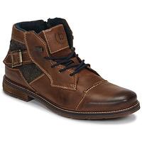 Schoenen Heren Laarzen Bugatti ROLLAND Brown