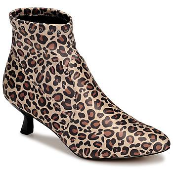 Schoenen Dames Enkellaarzen Katy Perry THE BRIDGETTE Leopard