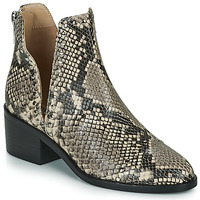 Schoenen Dames Laarzen Steve Madden CONSPIRE Beige / Python