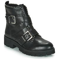 Schoenen Dames Laarzen Steve Madden HOOFY Zwart