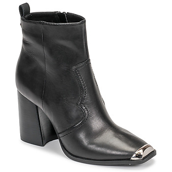 Schoenen Dames Enkellaarzen Steve Madden ENZO Zwart