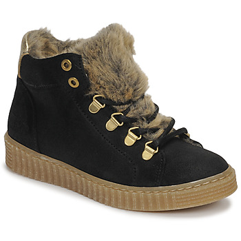 Schoenen Meisjes Hoge sneakers Bullboxer AIB504E6CA-BLCK Zwart