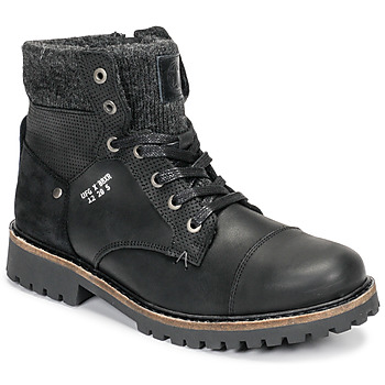 Schoenen Jongens Laarzen Bullboxer AHA518E6L-BLCK Zwart