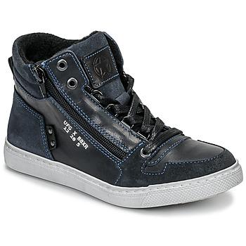 Schoenen Jongens Hoge sneakers Bullboxer AGM531E6L-NGBLK Marine