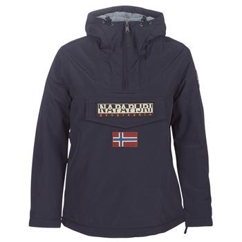 Textiel Dames Parka jassen Napapijri RAINFOREST WINTER Marine