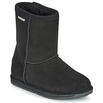Schoenen Kinderen Laarzen EMU BRUMBY LO WATERPROOF Zwart
