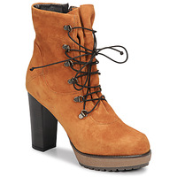 Schoenen Dames Enkellaarzen Sweet Lemon SIROLA Brown