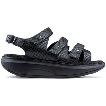 Schoenen Dames Sandalen / Open schoenen Joya Id Kyoto BLACK_SNAKE