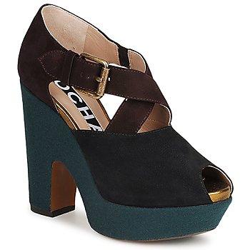 Schoenen Dames pumps Rochas NINFEA Brown / Blauw