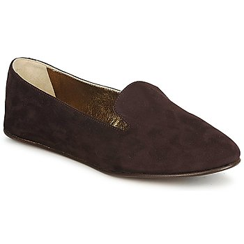 Schoenen Dames Mocassins Rochas NITOU Brown