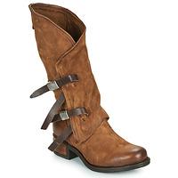 Schoenen Dames Hoge laarzen Airstep / A.S.98 ISPERIA BUCKLE Brown
