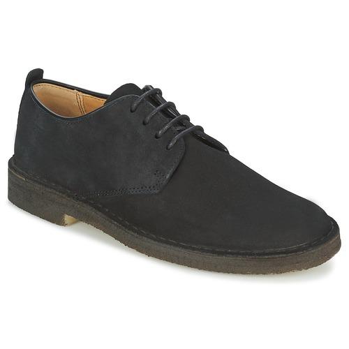 Schoenen Heren Derby Clarks DESERT LONDON Zwart