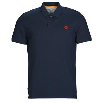 Textiel Heren Polo's korte mouwen Timberland SS MR Polo Slim DARK SAPPHIRE Marine