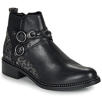 Schoenen Dames Laarzen Regard ROABIL V2 METALCRIS Zwart