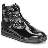 Schoenen Dames Laarzen Regard ROCPOL V3 VERNIS Zwart
