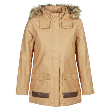 Textiel Dames Parka jassen Roxy TRAVELLING WEST Brown
