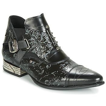 Schoenen Heren Laarzen New Rock BRAVA Zwart