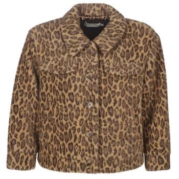 Textiel Dames Wind jackets See U Soon 9262153 Leopard