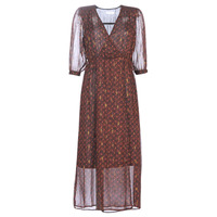 Textiel Dames Lange jurken See U Soon 9221839 Zwart / Rood