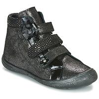 Schoenen Meisjes Hoge sneakers Citrouille et Compagnie HODIL Zwart
