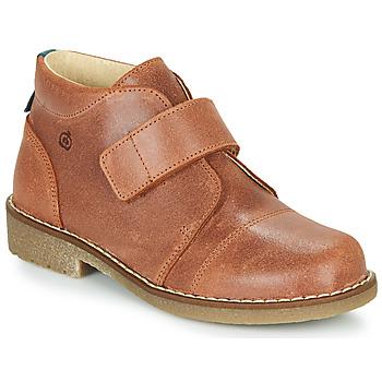 Schoenen Jongens Laarzen Citrouille et Compagnie LAPUPI Brown