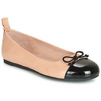 Schoenen Meisjes Ballerina's Citrouille et Compagnie LIOGE Nude / Zwart