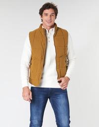 Textiel Heren Dons gevoerde jassen Oxbow L2JONBAY  camel