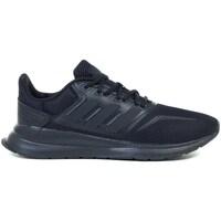 Schoenen Kinderen Running / trail adidas Originals Runfalcon K Noir
