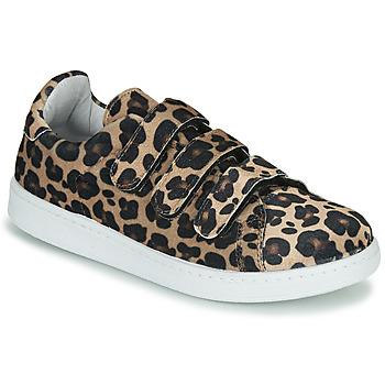Schoenen Dames Lage sneakers Yurban LABANE Leopard